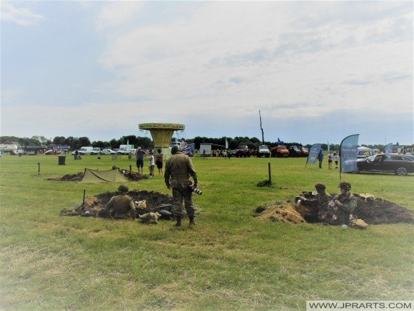 WWII Re-enactment in Volkel, The Netherlands 2017
