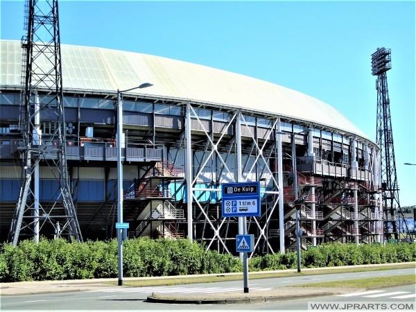 Stadion De Kuip in Rotterdam, Nederland