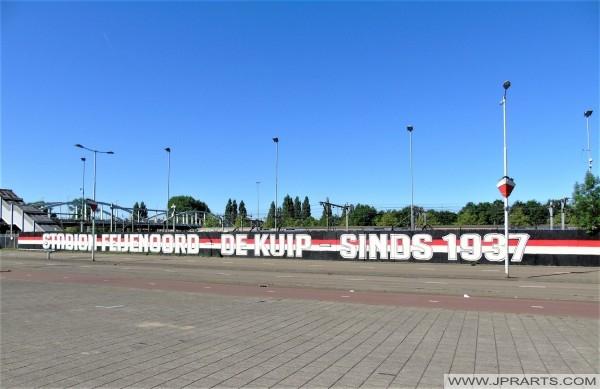 Stadion Feijenoord De Kuip - Sinds 1937 (Rotterdam, Nederland)