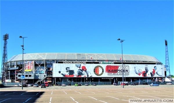 Stadion Feijenoord (De Kuip) in Rotterdam, Nederland