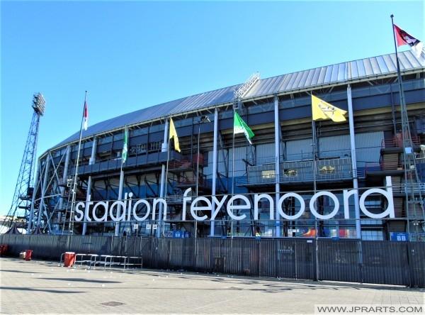 Stadion Feyenoord in Rotterdam, Nederland