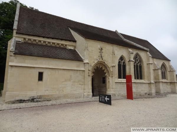 Église Saint Georges au Château de Caen, France