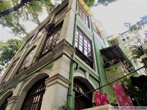中國廣州沙面老房屋