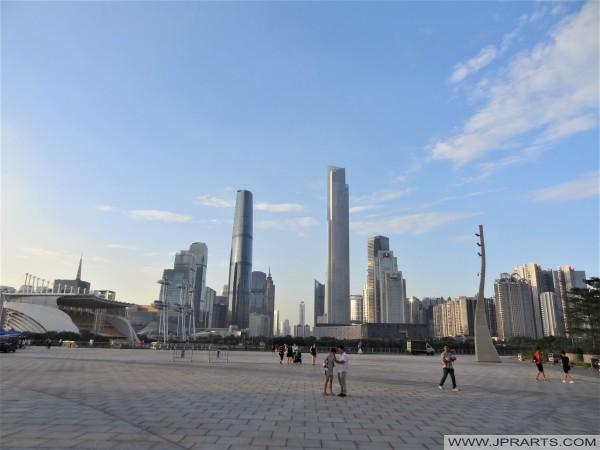 广州塔广场在广州,中国