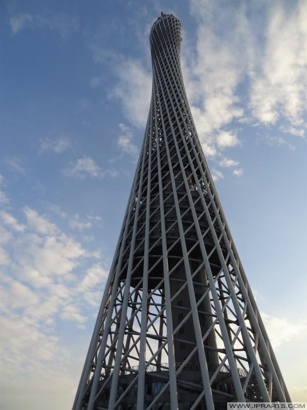 广州电视台天文及观光塔在中国广州
