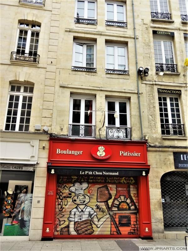 Boulangeries-pâtisseries 'Le P'tit Chou Normand' à Caen, France