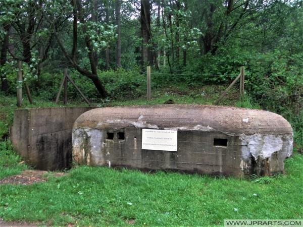 Bunker der Abschusskontrolle (V1 Stelling Val Ygot, Frankreich)
