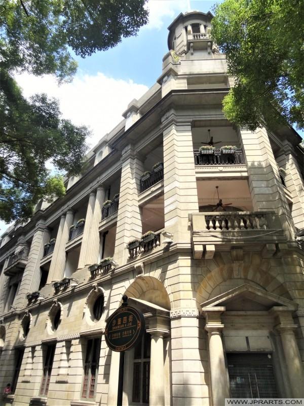 Classic Western Buildings on Shamian Island in Guangzhou, China