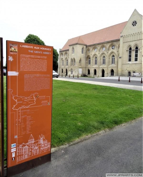 Informations de l'Abbaye aux Hommes à Caen, France