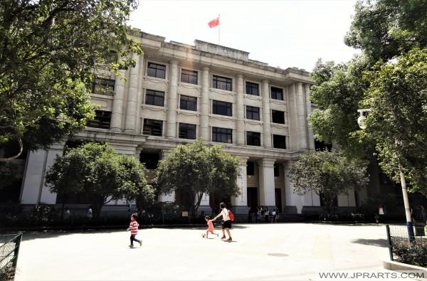 Kolonial Architektur auf Shamian Insel in Guangzhou, China