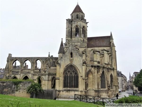 L'église Saint-Etienne-Le-Vieux à Caen, France