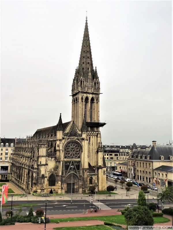 L'église Saint-Pierre de Caen , France