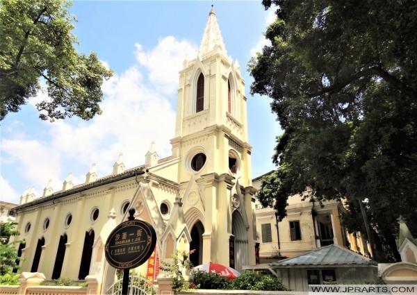 Our Lady of Lourdes Church on Shamian Island (Guangzhou, China)