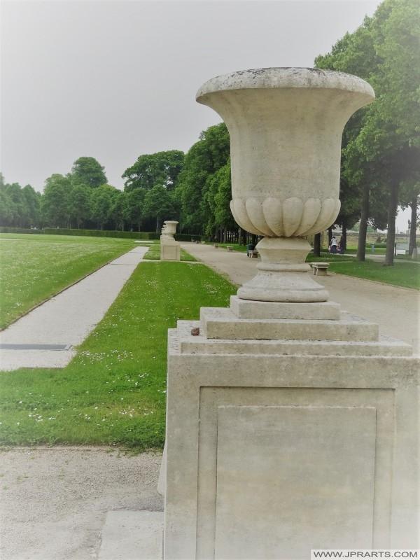 Parc Michel d'Ornano - L'Abbaye aux Dames à Caen, France