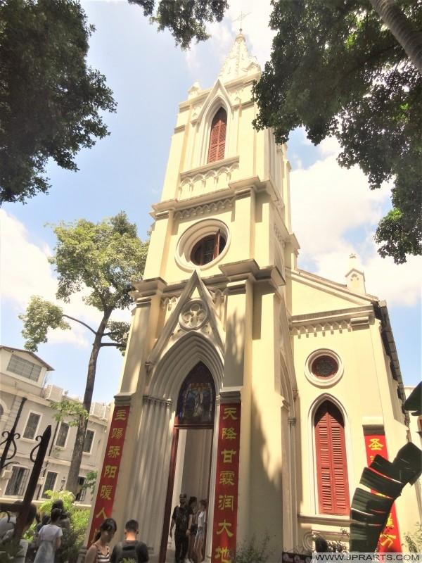 Shamian Church in Guangzhou, China