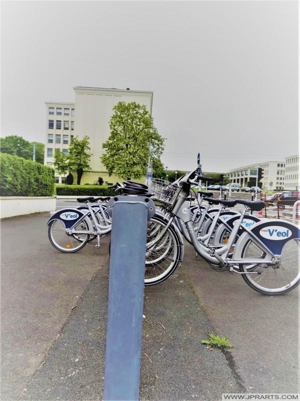 V'eol Programme de Vélo de Partage à Caen, France