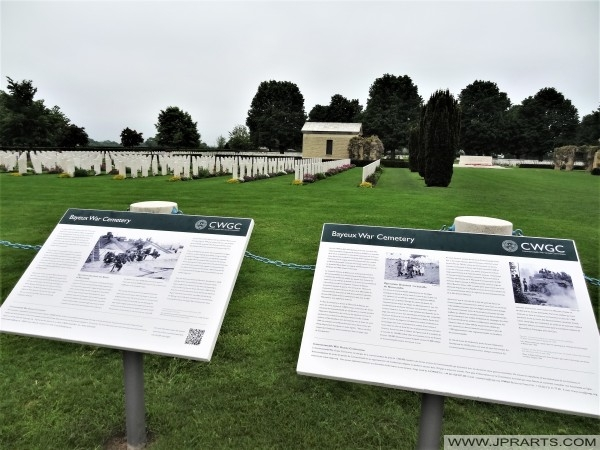 Information about the Bayeux War Cemetery (Normandy, France)