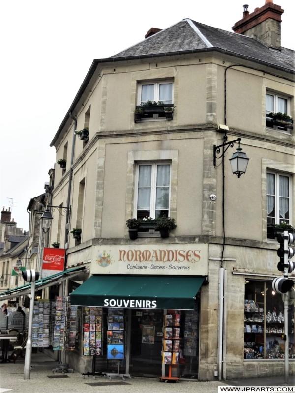 Boutique Souvenir à Bayeux, France