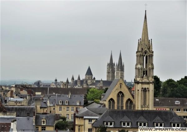 Caen - La Préfecture du Calvados (France)