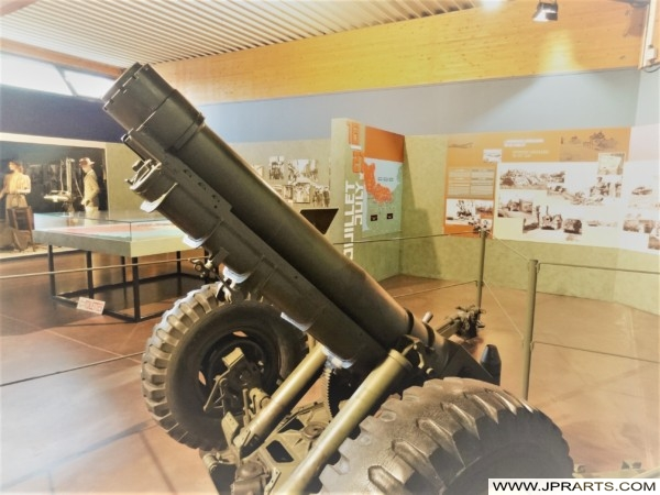 Gun at the Museum of the Battle of Normandy (Bayeux, France)