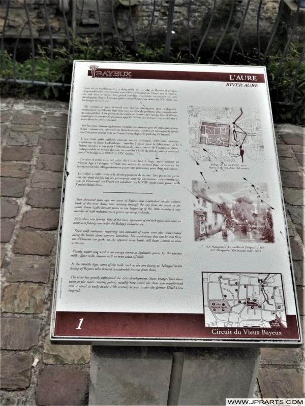 L´Aure à Calvados (Bayeux, France)