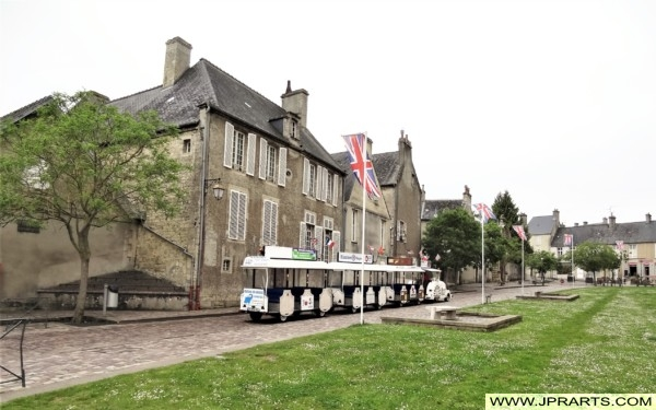 Le P'tit Train de Bayeux, France