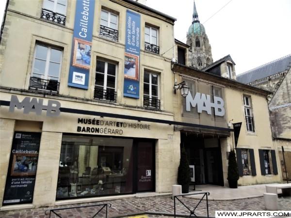 MAHB - Musée d'Art et d'Histoire Baron Gérard (Bayeux, France)
