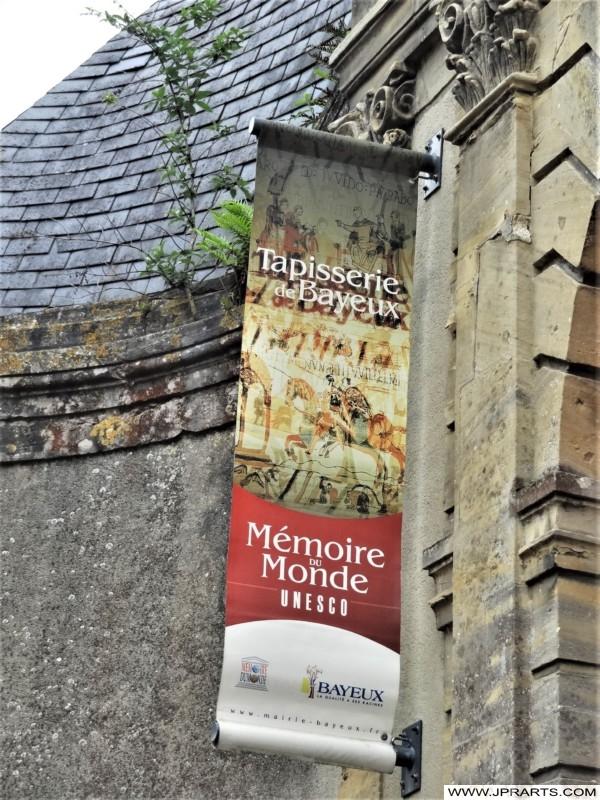 Musée de la Tapisserie de Bayeux (Normandie, France)