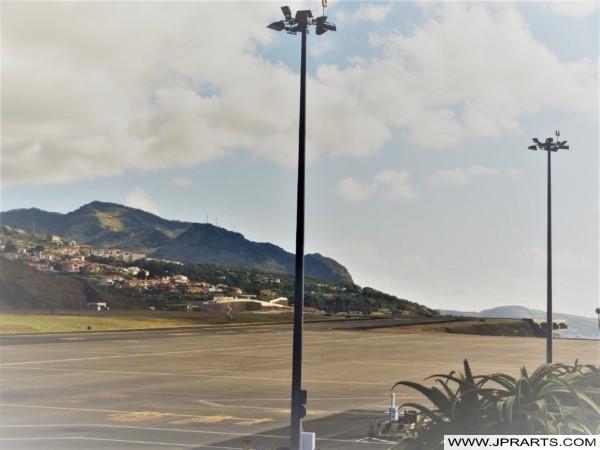 Plataforma de Pista no Aeroporto da Madeira