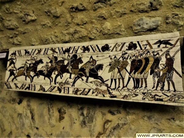 Battle of Hastings, a segment of the Bayeux Tapestry