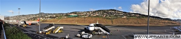 Vista Panorâmica do Aeroporto da Madeira