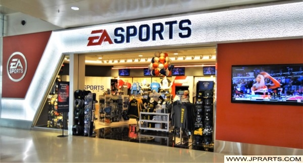 EA Sports at Detroit Airport