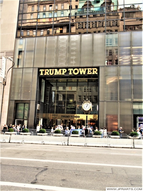 Main Entrance of the Trump Tower (New York, USA)