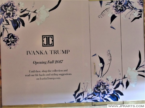 Opening of the Ivanka Trump Shop in the Trump Tower in 2017 (New York, USA)