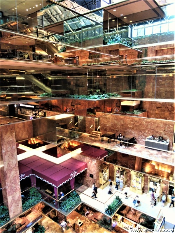 Atrium of the Trump Tower (New York, USA)