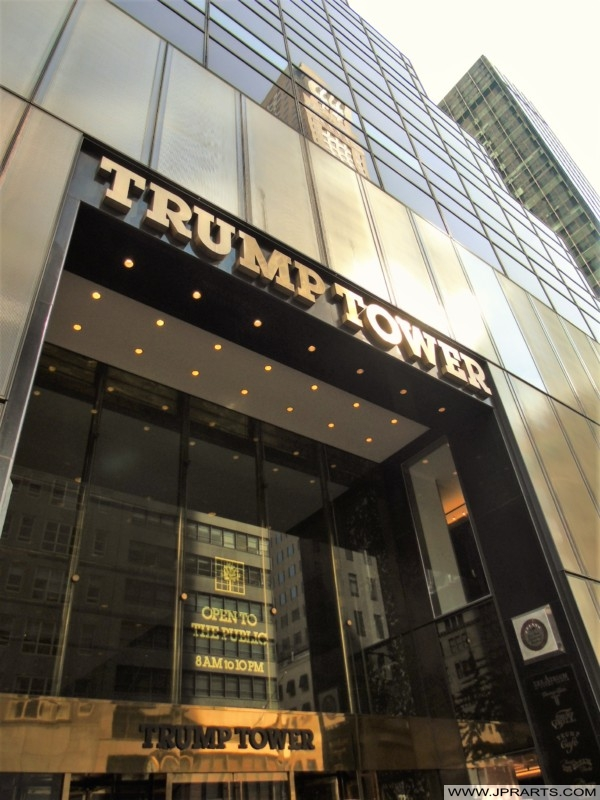 Trump Tower in New York, USA