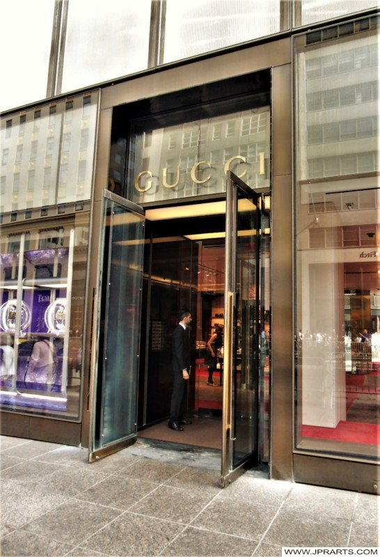 Gucci in the Trump Tower (New York, USA)
