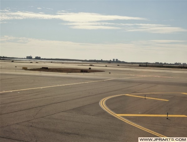 JFK Airport in New York, USA