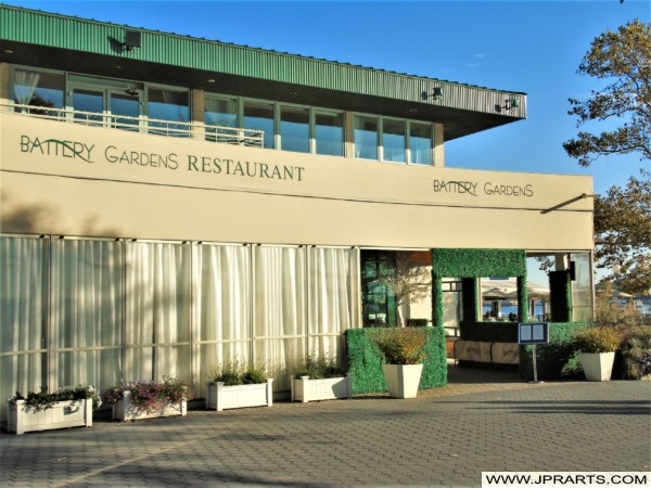 Battery Gardens Restaurant in New York, USA