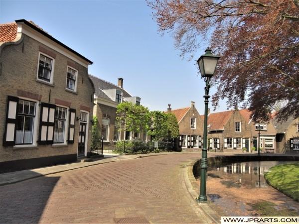 Kerksingel in Ridderkerk, Nederland