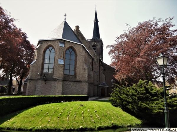 Singelkerk in Ridderkerk, Nederland