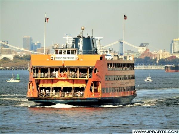 Staten Island Ferry vessel Andrew J. Barberi
