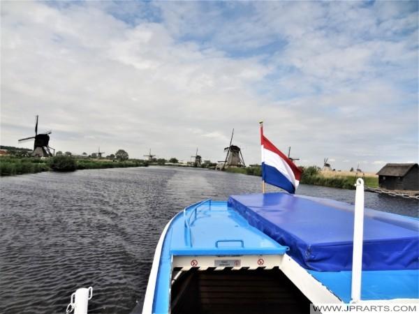 Boat Trip Kinderdijk, The Netherlands