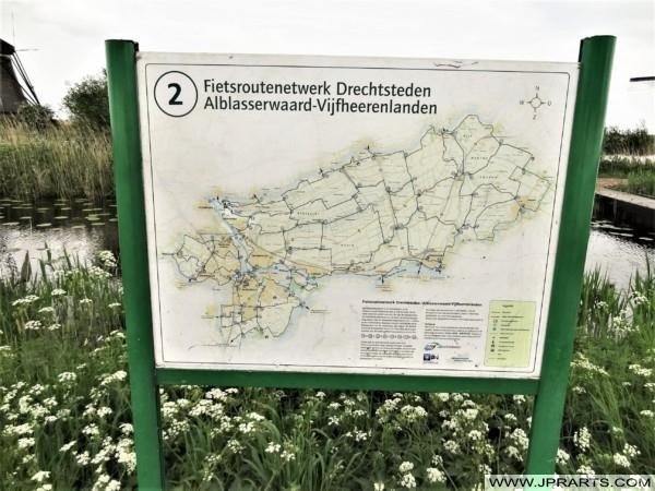 Fietsroutenetwerk Drechtsteden - Alblasserwaard - Vijfheerenlanden in Nederland