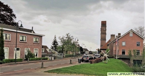 Kinderdijk Village in the Netherlands