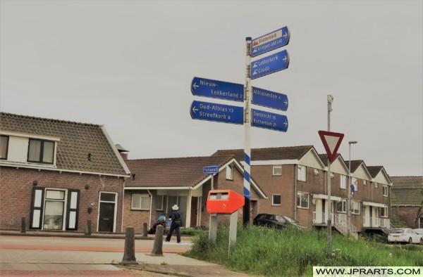 Streetview Kinderdijk, The Netherlands
