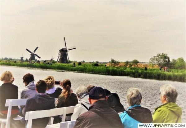 Vista desde el Barco Turístico en Kinderdijk, Países Bajos