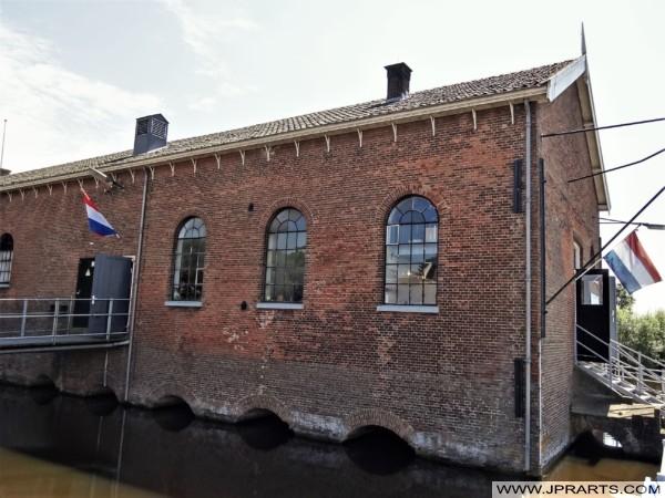 Wisboomgemaal in Kinderdijk, Nederland