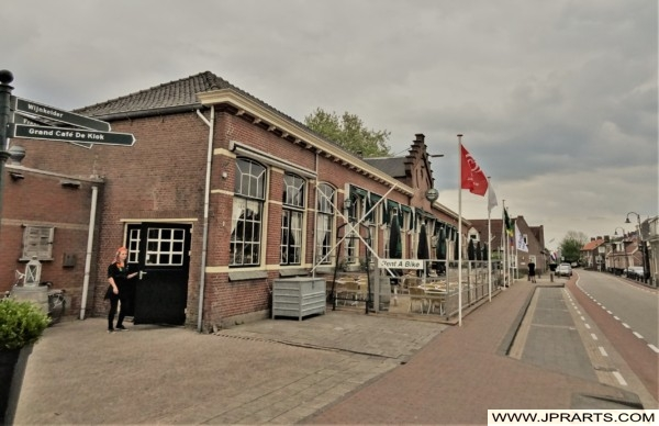 Grand Café Partycentrum De Klok in Kinderdijk, Nederland