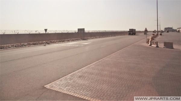 الطريق إلى ميناء خليفة بن سلمان في البحرين